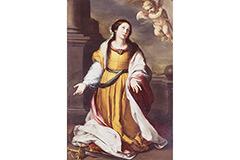 悲劇の運命を背負った《アレクサンドリアの聖カタリナ》。若きムリーリョの高い技量が発揮された名画