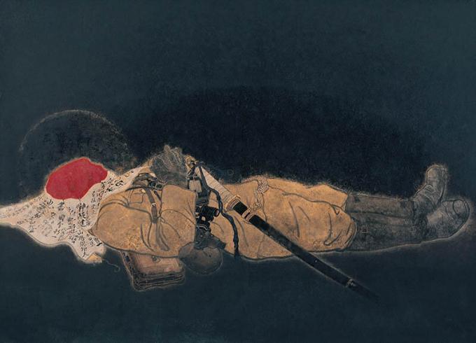 《國之楯》1944年 京都霊山護国神社(日南町美術館寄託)