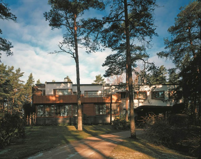 マイレア邸外観 Alvar Aalto Foundation