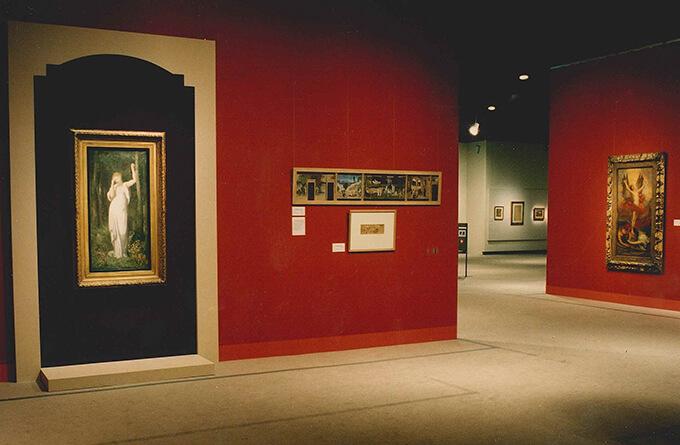 「世紀末ヨーロッパ 象徴派展」 開催期間:1996年12月14日(土)~1997年2月9日(日) 会場風景