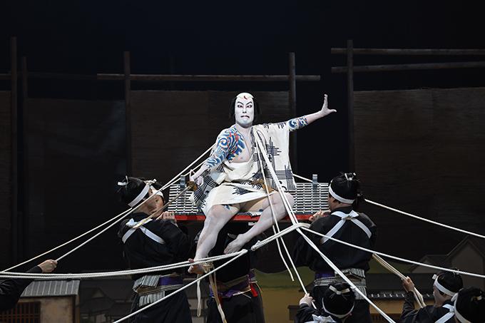 渋谷・コクーン歌舞伎 第十七弾『夏祭浪花鑑』 中村勘九郎 ©松竹