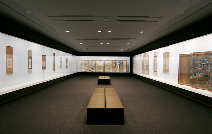 三井記念美術館 展示室