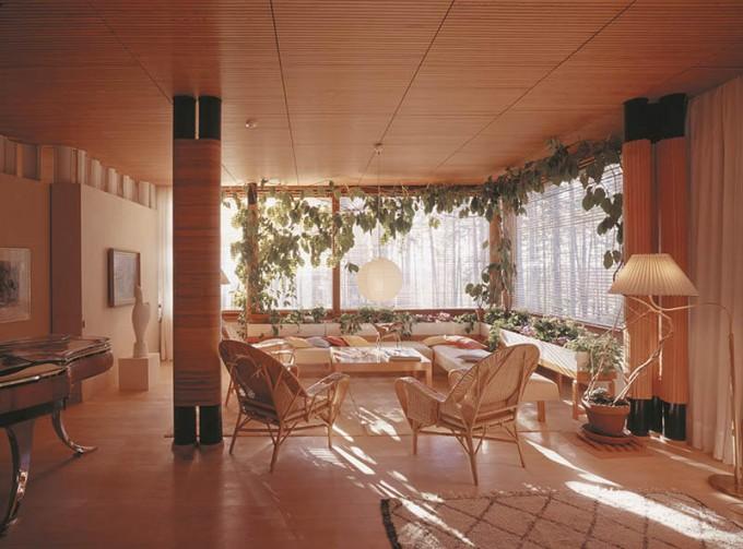マイレア邸 リビングルーム Alvar Aalto Foundation