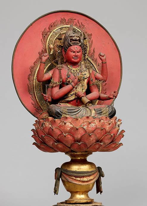 重要文化財 愛染明王像坐像 鎌倉時代 建長8年(1256) 通期